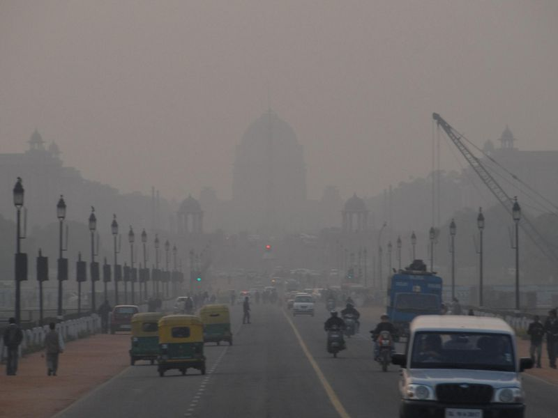 Delhi Smog, Mark Danielson, Creative Commons.