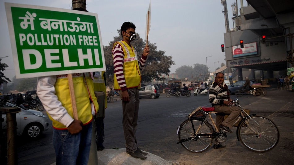 Delhi citizens campaign for clean air - Delhi Government